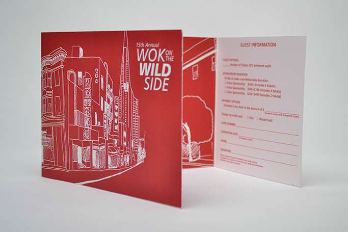 Wok in the Wild Side brochure