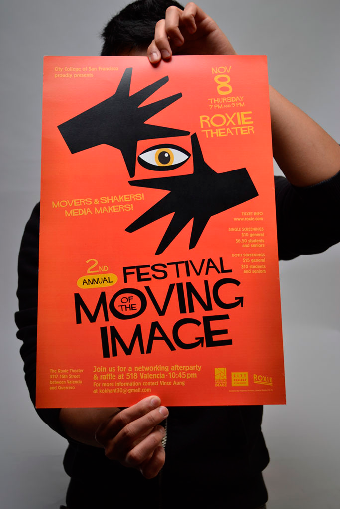 Festival of the Moving Image poster