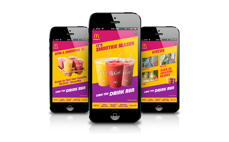 Mc Donald's Drink Run iPhone app