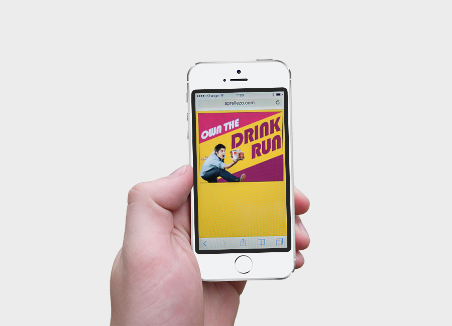 Mc Donald's Drink Run animations